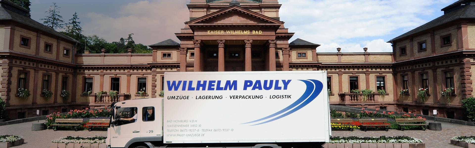 Wilhelm Pauly Umzug - Bad Homburg